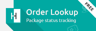 Order Status Lookup Tracking